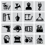 Konstruktionssymboler vektor illustrationer