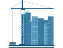 konstruktionstecken Arkivbild