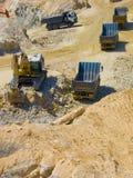 konstruktionsutgrävninglokal Arkivfoto