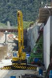 konstruktionsväg Royaltyfri Foto
