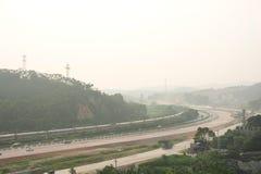 konstruktionsväg under Arkivbilder