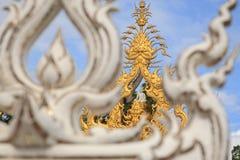 Konstskulptur av Buddha Arkivfoton