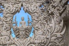 Konstskulptur av Buddha av Thailand Royaltyfria Bilder