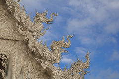 Konstskulptur av det Himmaphan djuret Royaltyfri Foto