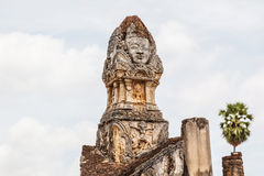 Konststil Sukhothai, Thailand Royaltyfri Foto