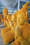 konstthailand wax royaltyfria foton