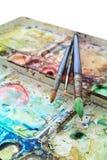konstvattenfärg fotografering för bildbyråer