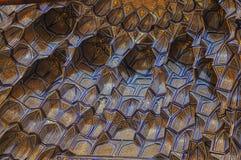 Konstverk i moské Arkivbild