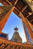Konstverk inom den offentliga kungliga templet royaltyfria bilder