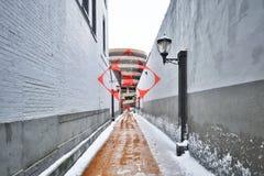 Konstverk vid Varini i New Haven Fotografering för Bildbyråer