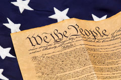 konstytucja jest star u Obrazy Royalty Free