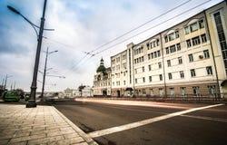 Konstytucja kwadrat w Kharkiv Zdjęcia Stock