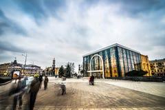 Konstytucja kwadrat w Kharkiv Obraz Royalty Free