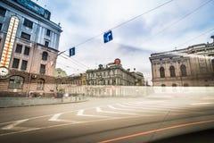 Konstytucja kwadrat w Kharkiv Fotografia Royalty Free