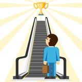 konsultacji z biznesu Wygodny sposób sukces royalty ilustracja