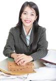 konsulterande professionell för rådgivning Arkivbild