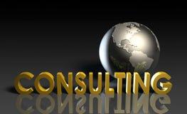 konsulterande service royaltyfri illustrationer