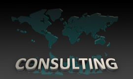 konsulterande service Fotografering för Bildbyråer
