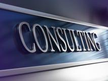 Konsultfirma konsulteringföretag stock illustrationer