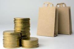 Konsumpcyjny tani online zakupy obrazy stock