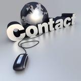 Kontakt Stockbild
