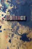 Kontakt Lizenzfreies Stockfoto