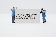 Kontakt Lizenzfreie Stockfotos