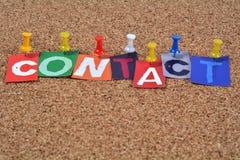 kontakt obraz royalty free