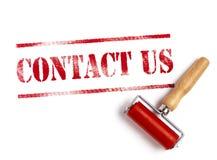 kontakta post phone oss Arkivbilder