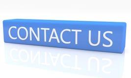 kontakta post phone oss Fotografering för Bildbyråer