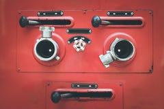 Kontaktdon för slang för brandlastbil Royaltyfria Bilder