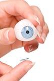 kontaktlins Arkivfoton
