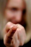 Kontaktlinse I Lizenzfreie Stockfotos