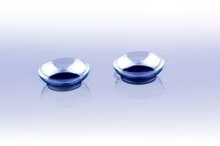 Kontaktlinsen Stockfoto