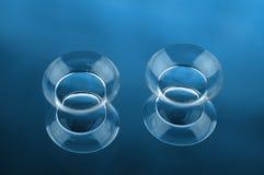 Kontaktlinsen Stockfotografie