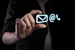 Kontaktowa ikona Obraz Stock
