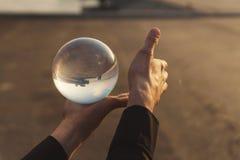 Kontaktowy żonglować zdjęcie stock