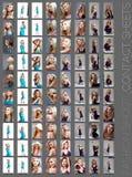 kontaktowy mody prześcieradła krótkopęd Zdjęcie Royalty Free