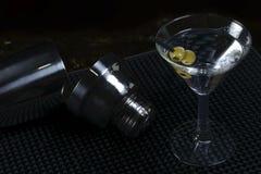 kontaminacja koktajl zawiera eps10 wizerunku Martini trybów przezroczystość różnorodną Zdjęcia Royalty Free