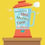 Kontaminacja pomysłu biznes ilustracji