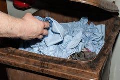 Kontaminerad avfalls Royaltyfri Foto