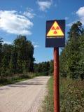 kontaminowanie promieniotwórczy Obrazy Stock