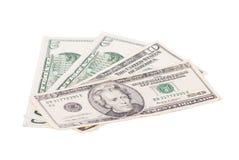 kontant dollar arkivbilder