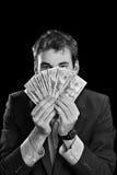 kontant pengar Arkivbilder