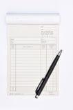 kontant pennförsäljning för svart bok Royaltyfri Foto