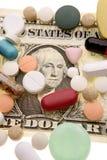 kontant pills Royaltyfria Bilder
