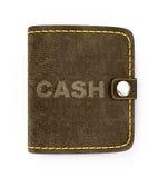 kontant plånbok Royaltyfria Foton