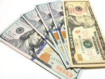 Kontanta dollar Royaltyfri Foto