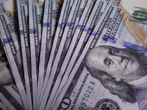 Kontanta US dollar Arkivfoton