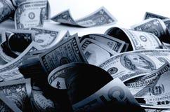 Kontanta US dollar Arkivfoto